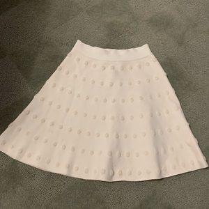 BCBG knit flowy skirt
